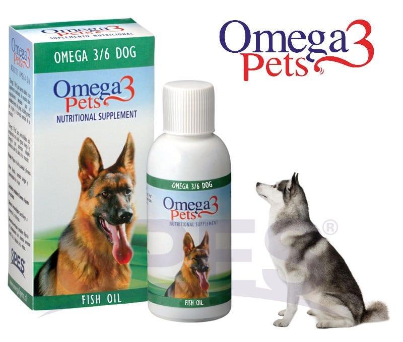 Producto con omega 3 para perros