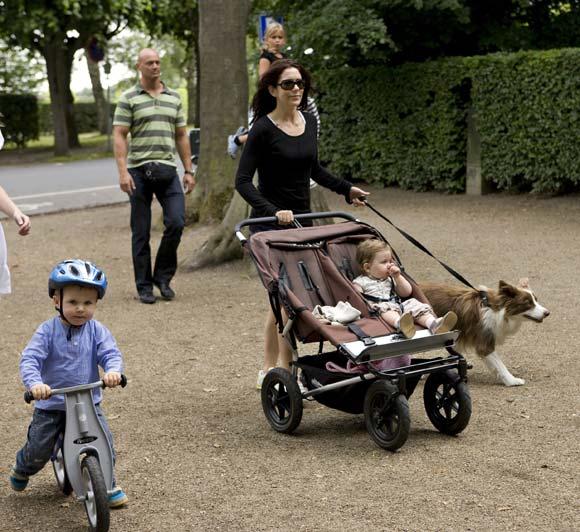 Princesa Mary con Ziggy y sus hijos