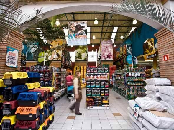 Tienda para mascotas en San Pablo, Brasil
