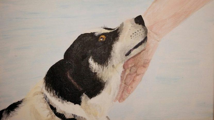 Pintura de perro