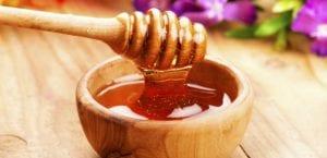 Cuenco con miel.