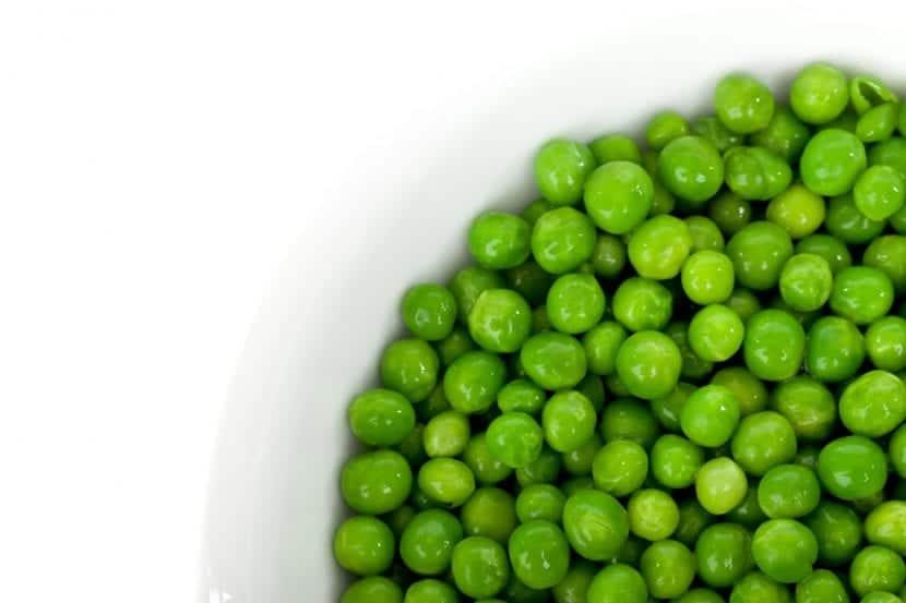 Los guisantes, unas verduras muy sanas para tu perro