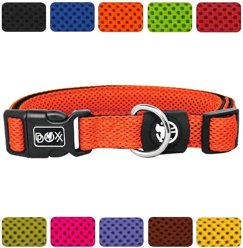 Collar para Perro con textura Air Mesh en varios colores