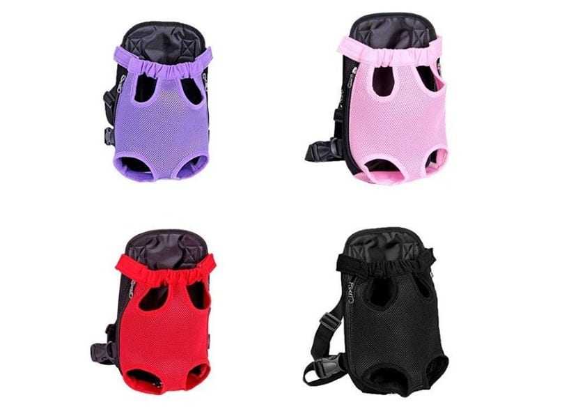 Kaisir Transportín mochila, ajustable para mascotas