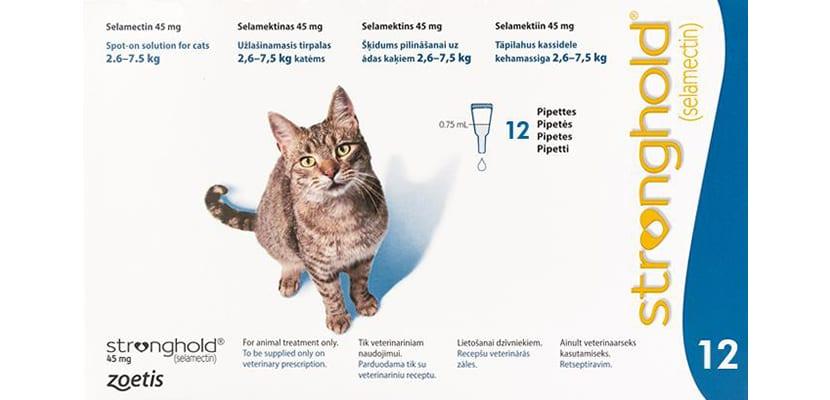 Antiparasitario para gatos
