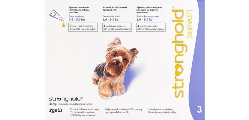 Antiparasitario para perros