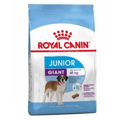 Pienso para perros junior de razas gigantes