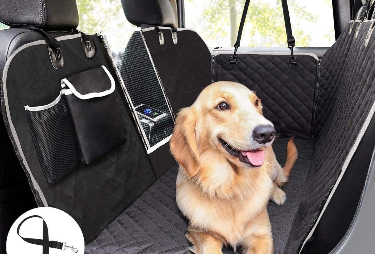 Protector de asiento de coche para perros