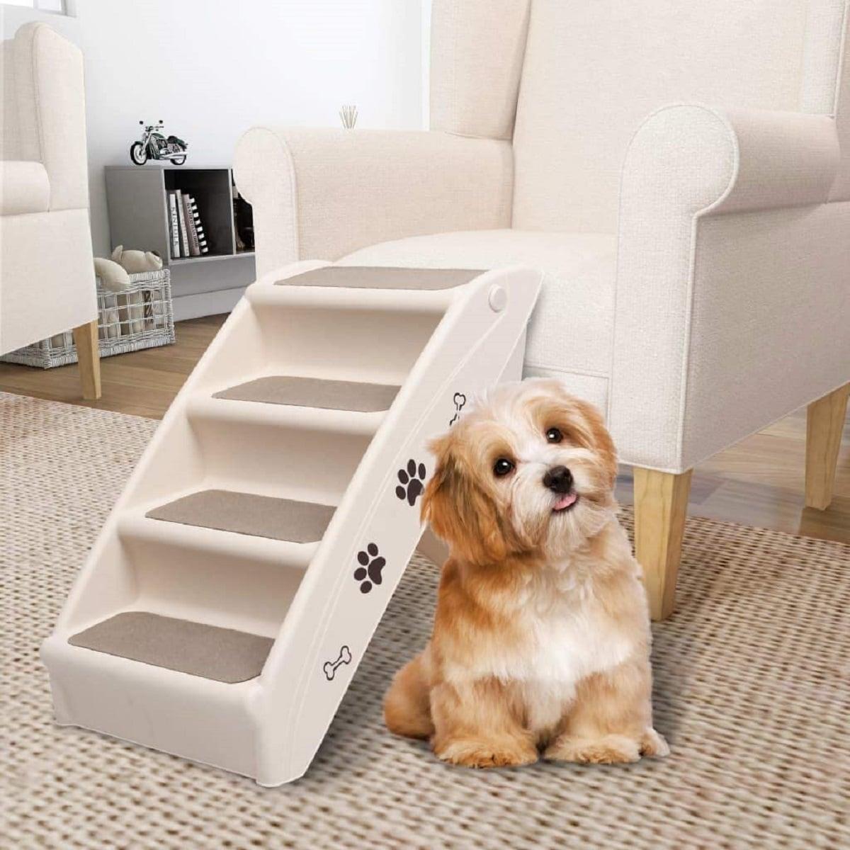 Tipos de escaleras para perros